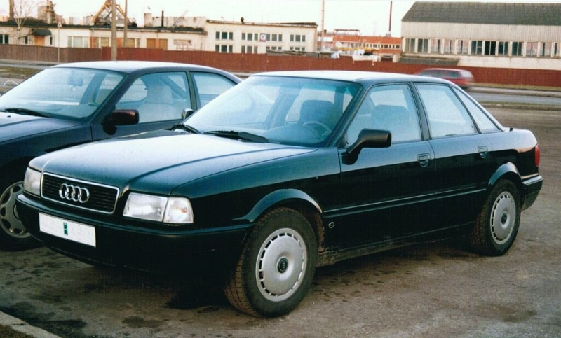 9ddf1438384 Aastal 2000 sأµitsin igapأ¤evaselt 1992 aasta tumerohelisel B4 kerega Audi  80-l. 18 aasta eest oli see igati edev auto, aga omaniku jaoks oli juba  siis ...